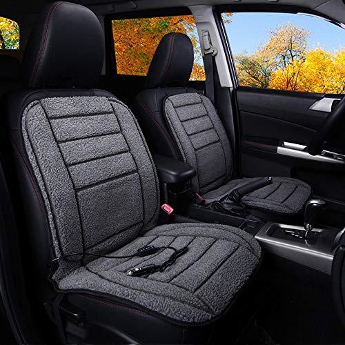 12V / 24V Car Verwarming Kussen, Imitatie Lambskin Fabric, Professionele auto-accessoires, Exquisite, comfortabele kussens Intelligent Automatic Temperature Control, Verwarming Pad Winter Warmer