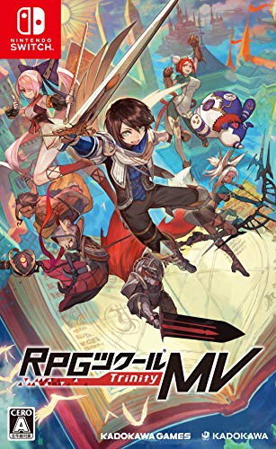 RPG Maker MV - Nintendo Switch (Original Japanese Version / Region Free + Sub-titles)