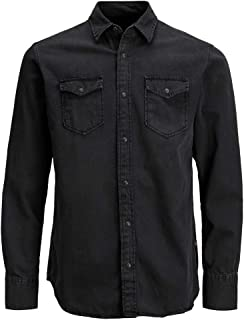 Jack & Jones Men's Jjesheridan Shirt L/S Denim