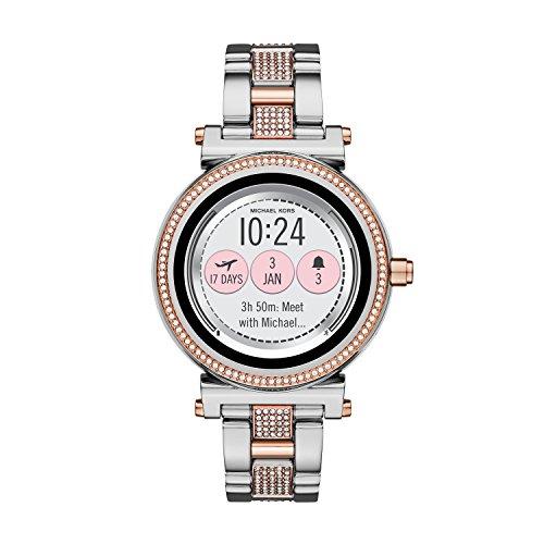 Michael Kors Reloj Analogico para Unisex de Cuarzo con Correa en Acero Inoxidable MKT5040