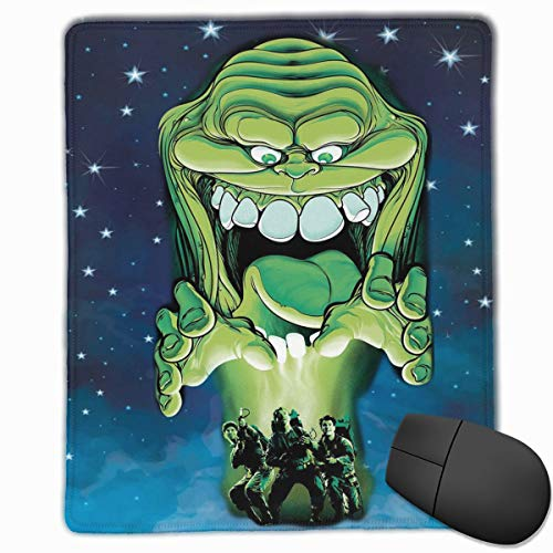 The Real Ghostbusters Mouse Pad for Laptop Mac, Professional Non-Slip Mouse Mats with Stitched Edge, Best Desk Pad for Desktop - 9.8x11.8 in