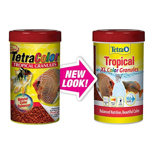 Tetra Tropical XL Color Granules with Natural Color Enhancer, 10.58-Ounce (TetraColor)