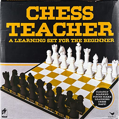 Chess Teacher Board Game, Learning Educational Toys for Adults, Families and Kids Ages 6 and up, by Spin Master