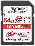 BigBuild Technology Tarjeta de memoria ultrarrápida U3 de 6