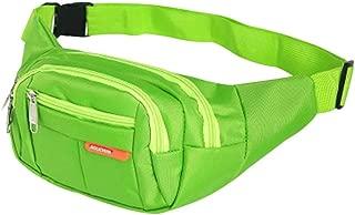 YWSCXMY-AU 6 Colors New Waist Pack Men Women Bum Bag Travelling Phone Money Pouch Banana Bags Female Belt Bags (Color : Green)
