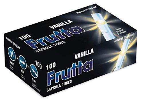 FRUTTA Click Hülsen Vanilla Filterhülsen mit Aromakapsel 1 Box (100 Hülsen)