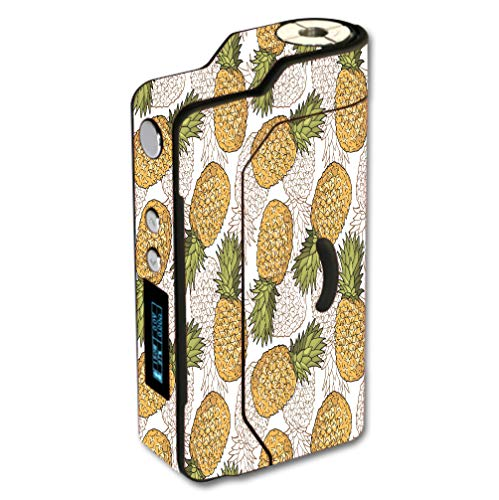 Decal Sticker Skin WRAP Pineapple Pattern for Sigelei 150W Temp Control