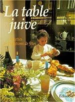 La table juive. Recettes et traditions de fêtes de Martine Chiche-Yana