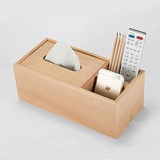 Uchwyt na tkanki z organizerem biurowym, 29x14x11cmtissue Box z pilotem pilotem, prostokątny pudełko dozownika tkanek twar...