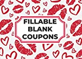 Fillable Blank Coupons: 30 DIY Blank Coupon Vouchers for Mom, Wife,...