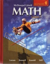 McDougal Littell Math: Student Edition Course 1 2008