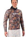 Mares Instinct Rash Guard - Camiseta para Hombre, diseño de Camuflaje, Color marrón