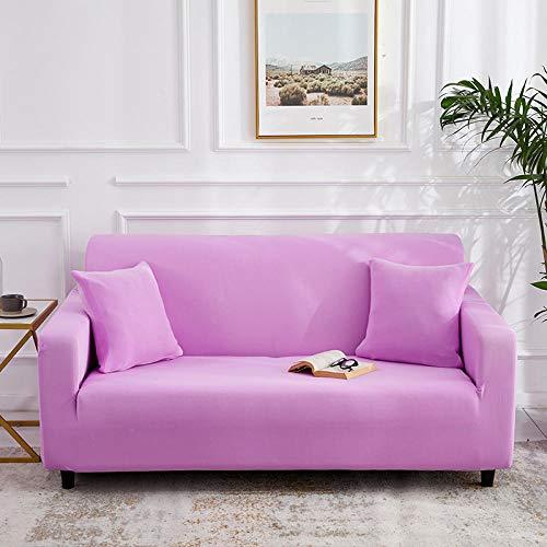 B/H Estiramiento Sofá Protección Sofá Cubierta,Funda de sofá elástica Fundas de sofá Todo Incluido para Sala de Estar Funda de sofá-2_90-140cm_China,Funda Tela Elástica de Sofá de Terciopelo