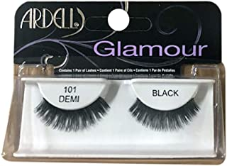 Ardell Fashion Lashes, [101] Demi Black 1 pair (Pack of 12)