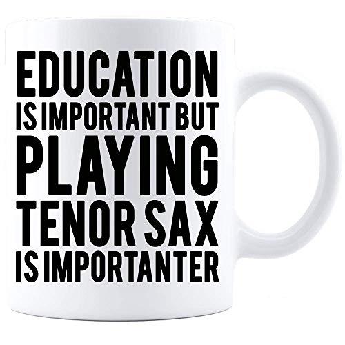 Taza para saxo tenor Regalo para saxo tenor Taza para café para saxo tenor Idea de regalo para saxo tenor Regalo para saxo tenor para hombres y mujeres