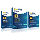 RunNico Nicotine Transdermal Patches Stop Smoking Aid Nicotine System Patch Smoking Cessation 21mg 21 Patches