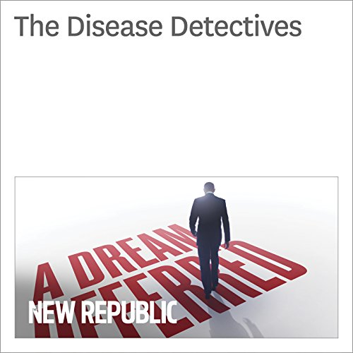 The Disease Detectives audiobook cover art