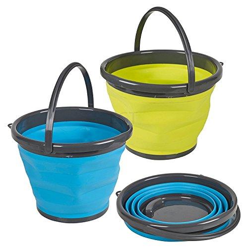 Guaranteed4Less Grande en Silicone Pliable Seau – Seau d'eau de 10 l pour Le Camping ou la Maison.