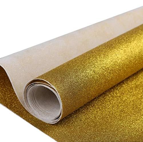 Goldener Teppich, Romantische Hochzeit Teppich Runner Party Bankett Teppich VIP Kanal Teppich, Dicke: 0,65 Mm (größe : 1M×30M)
