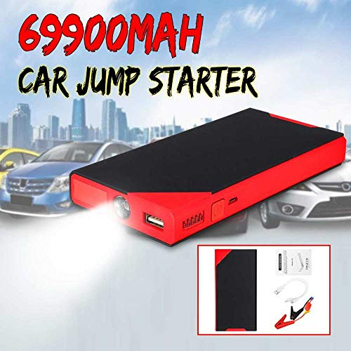 Amazing Deal STHfficial 69900mAh Car Jump Starter Power Bank 12V USB LED Portable Multifunction Emer...