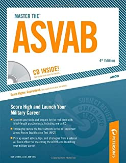 Master the ASVAB w/ CD, 4E: Armed Services Vocational Aptitude Battery (Peterson's Master the ASVAB (W/CD))