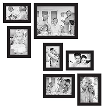 MCS 7-Piece Gallery Frame Set, Black (49709)
