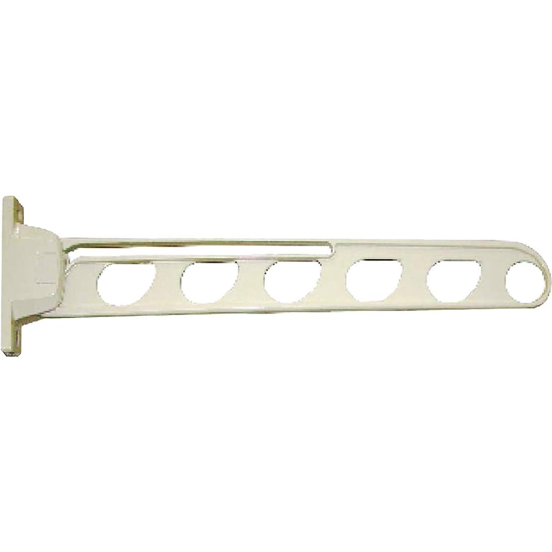 優越自由麻酔薬水上金属 ファースト New DEXスイング物干金物 550mm ホワイト