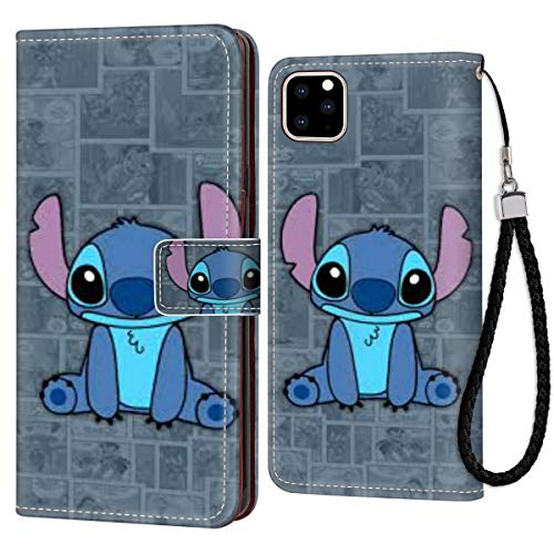 Disney Collectiondisney Collection Iphone 11 6 1 Inch Wallet Phone Case Leather Cash Card Case Stitch Cute Wallpaper Beautiful Dailymail