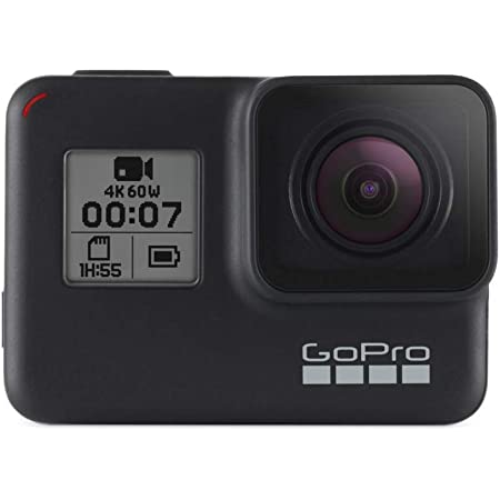 GoPro HERO7 Caméra Numérique Embarquée Étanche avec Écran Tactile, Vidéo HD 4K, Photos 12 MP, Diffusion en Direct et Stabilisation Intégrée