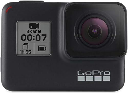 GoPro Hero7 - Action Camera 4K con Hypersmooth, Stabilizzazione video e Live streaming, Controllo vocale, impermeabil...