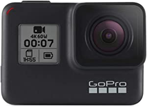 GoPro HERO7 Black — Caméra Numérique Embarquée Étanche avec Écran Tactile, Vidéo..