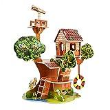 Cartón 3D Rompecabezas Juguetes educativos para niños Juegos de Inteligencia Hobby ensamblar Dibujos Animados Edificio armonioso Parque Modelo DIY Regalos para niños