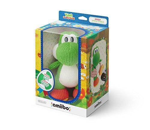 Nintendo - Amiibo Mega Yoshi Lana, Color Verde