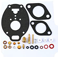 New Carburetor Repair Kit For Marvel Schebler TSX carburetor John Deere M 40 320 330 420 430 2010 Farmall 504 Ford 801 Allis WD45 Replaces K7515 778-515