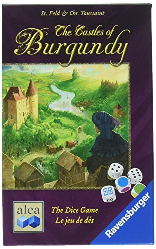 Ravensburger The Castles of Burgundy for Ages 10 amp Up  Strategy Dice Game of DecisionMaking amp Territory Building