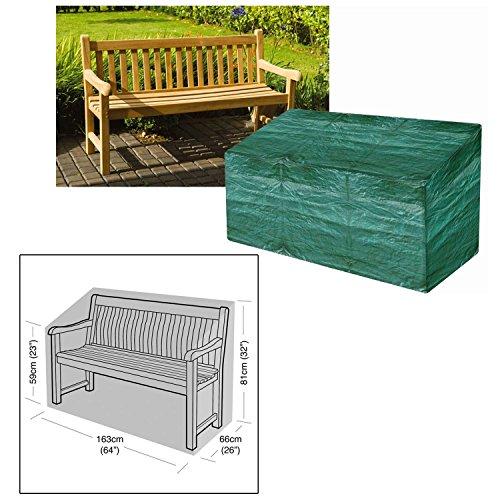 Parkland, telo di protezione resistente e impermeabile per panchina da esterni a 3 posti