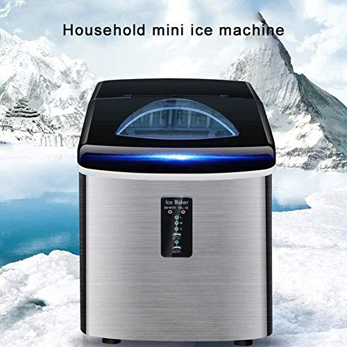 Countertop Ice Maker, automatische elektrische ijsmaker Mini Bullet Round Ice Making Machine Intelligente ijsmaker voor bar, koffie, melk, theewinkel