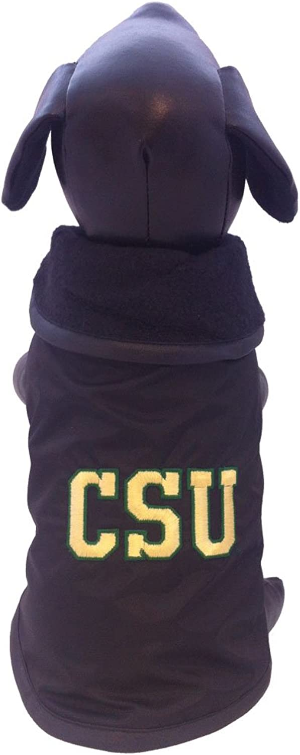 All Star Dogs colorado State Rams All Weather Resistant Predective Dog Outerwear, Tiny