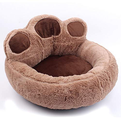 DKNBI Cama para Perros New Comfortable Winter Dog Bed Lovely Paw Soft...