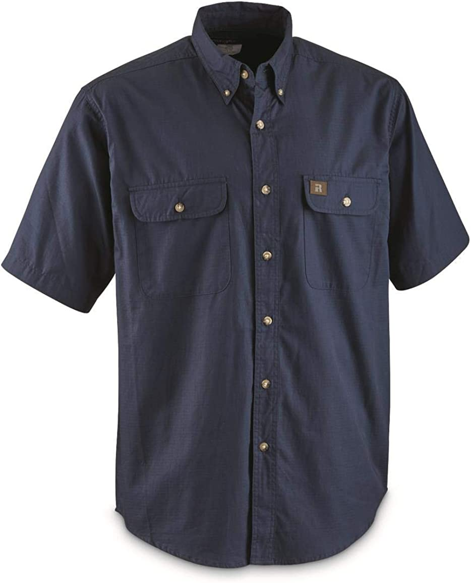 Wrangler Riggs Workwear Men's Short Sleeve Riptop Work Shirt