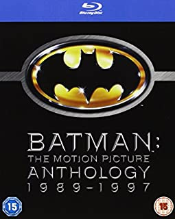 Batman - The Motion Picture Anthology 1989-1997 [Blu-ray][Region Free] [2005] (B001MUK7GY) | Amazon price tracker / tracking, Amazon price history charts, Amazon price watches, Amazon price drop alerts