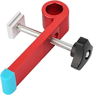 Aluminium Alloy Wood Clamp, Slide Slot Wood Clamp Tool Limiter Wood Clamp, Handtool for Industry(Type A)