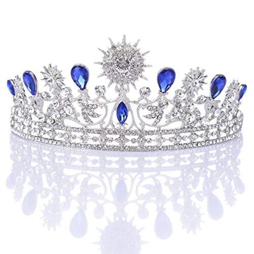 Beaupretty 1 unid Rhinestone nupcial tiara vintage exquisita reina tiara corona accesorio...