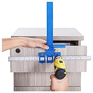 Drill Guide Sleeve Cabinet Hardware Jig Drawer Pull Wood Drilling Dowelling Hole Furniture punching Tool True Position Tools
