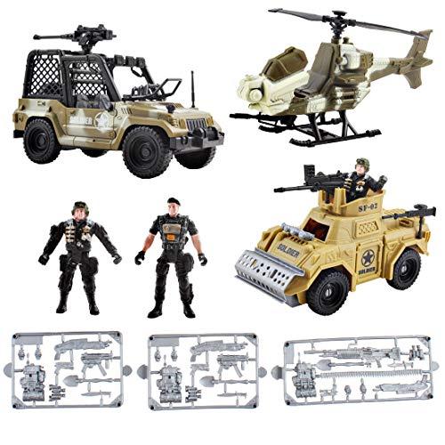 deAO Vehículos de Combate Modelo Die-Cast a Pequeña Escala