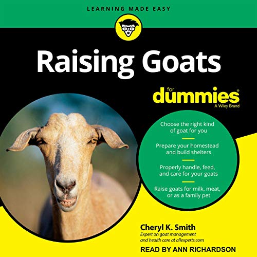 Couverture de Raising Goats for Dummies
