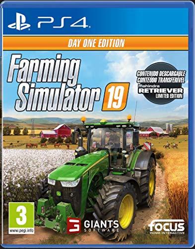 Farming Simulator 19 Day One Edition (PlayStation 4) - PlayStation 4 [Edizione: Spagna]