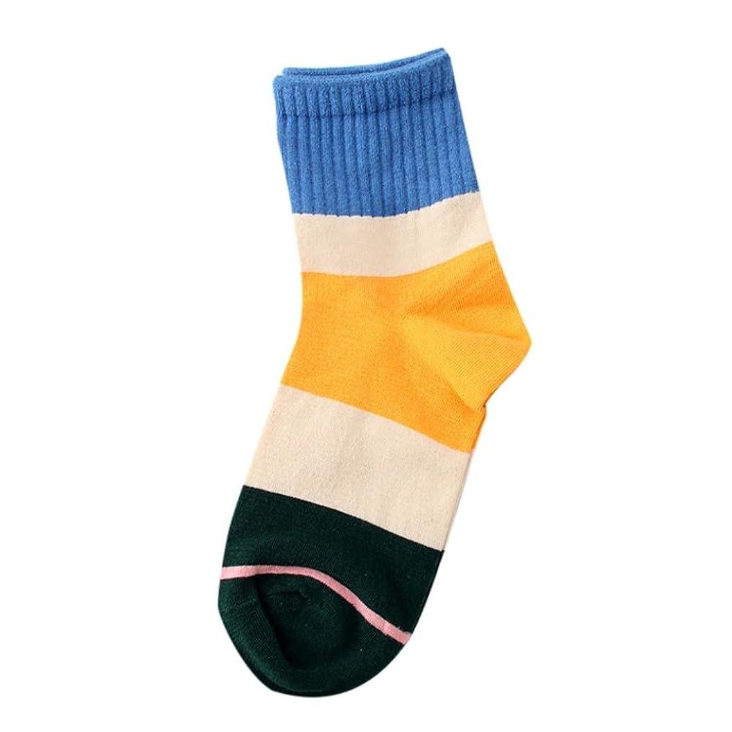 残基幻想的境界Mhomzawa 靴下 綿 ソックス レディース カラーブロック 吸水速乾 春夏 抗菌 オシャレ靴下 脱げにくい シンプル スクールソックス