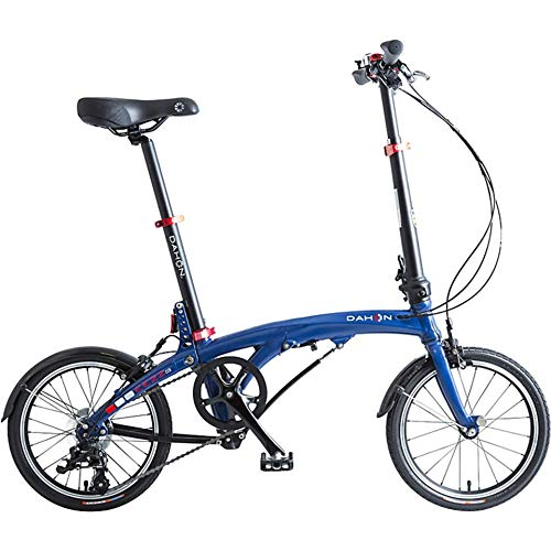 Dahon Eezz D3, Bicicletta Pieghevole Unisex Adulto, Blu Scuro, 16'