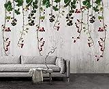 Papiers Peints Vintage Fruit Vine Papier Peint Mural Salon Chambre Murale Art Décoration De La Maison